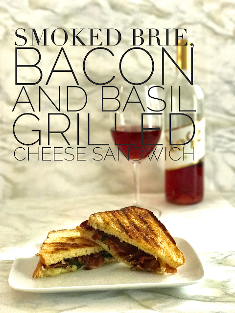 Brie, Bacon and Basil Grilled Cheese