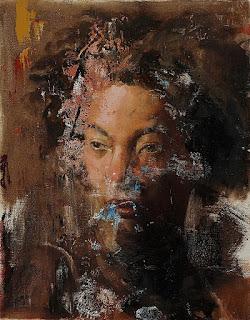 expresionismo-abstracto-pinturas-figurativas cuadros-mujeres-arte