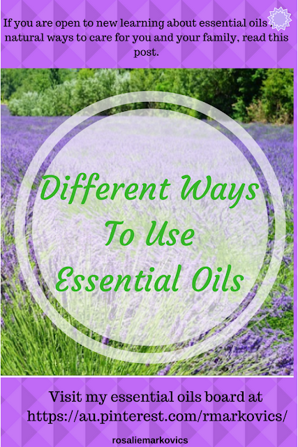 Different Ways to Use Essential Oils-Part 2.