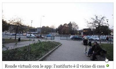 Смартфоны граждан для поимки преступников в Турине