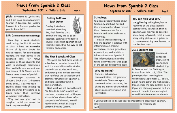 Teaching Spanish W Comprehensible Input