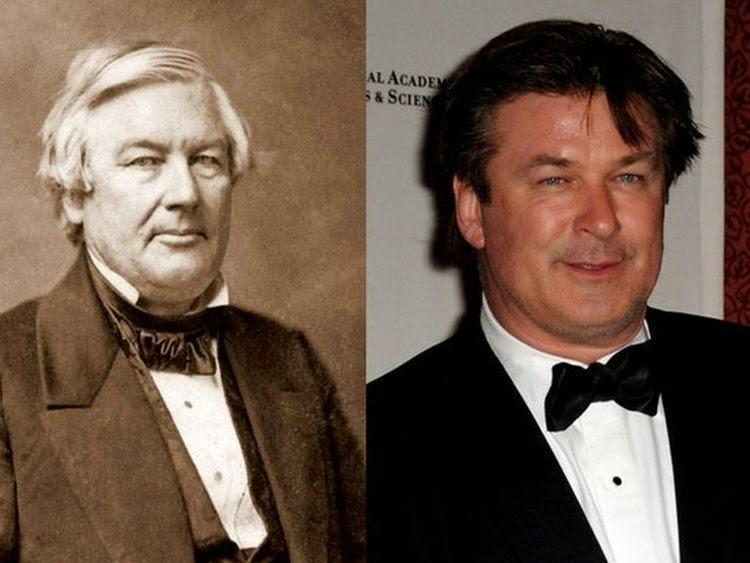 Alec Baldwin dhe Presidenti Millard Fillmore