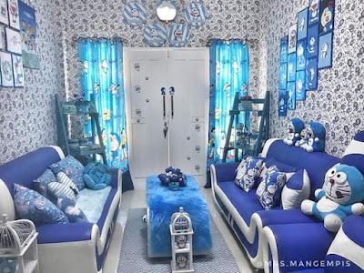 Gambar Ruang Tamu Doraemon