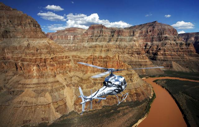 Passeios de helicóptero no Grand Canyon em Las Vegas