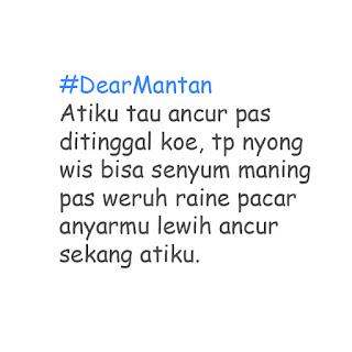 Meme Lucu Dear Mantan Bahasa Jawa