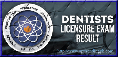 The Professional Regulation Commission (PRC): 763 out of 769 passed the Dentist Licensure Examination (Practical Phase) given by t