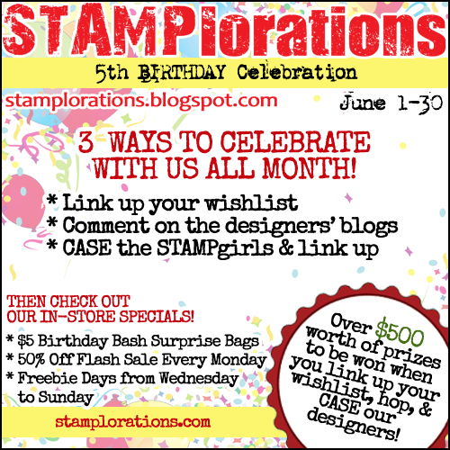 STAMPlorations is 5 years old!!