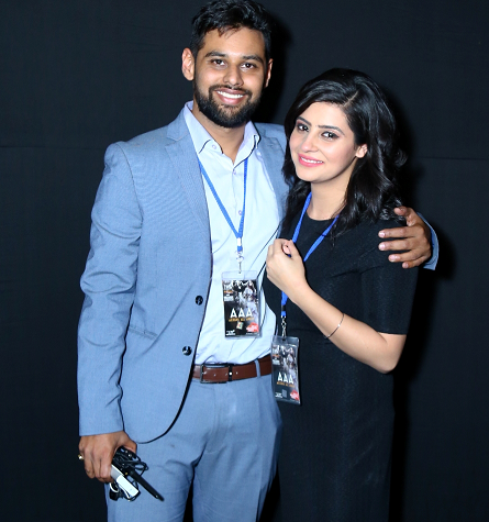Hosts of Indian Wedding Show Anuraj Antil and Rashu Rathi