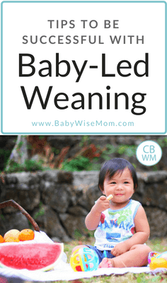 Tips to Be Successful With Baby-Led Weaning. Four moms share how to do Baby-Led Weaning and what foods to introduce first.