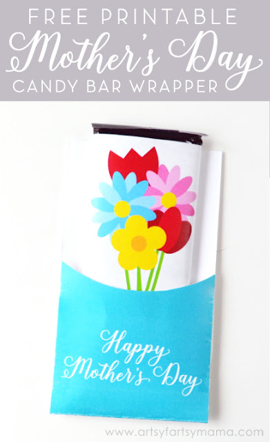 Free Printable Mother\u0027s Day Candy Bar Wrapper artsy-fartsy mama