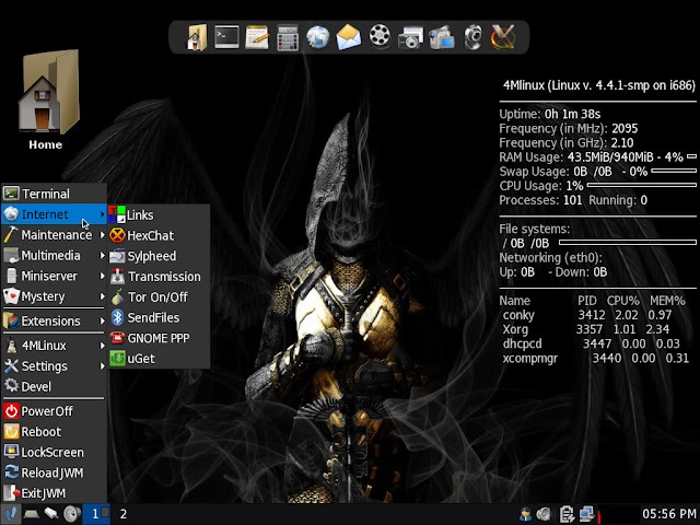 4MLinux 17.0 STABLE preview