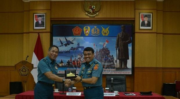 Laksma TNI Suradi Pimpin Kunjungan Kerja Humas Bakamla RI