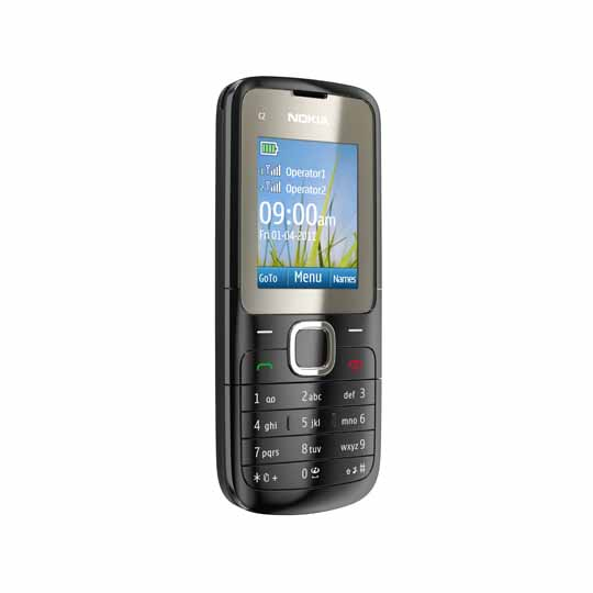 techzone nokia c2 00 dual sim phone with affordable price. Black Bedroom Furniture Sets. Home Design Ideas