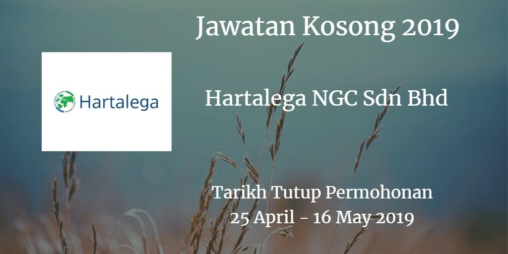 Jawatan Kosong Hartalega NGC Sdn Bhd 25 April - 16 May 2019