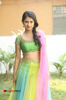 Actress Nikitha Bisht Stills in Lehenga Choli at Pochampally Ikat Art Mela Launch  0117.JPG