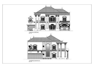 Image Result For Desain Rumah Lantai Klasik