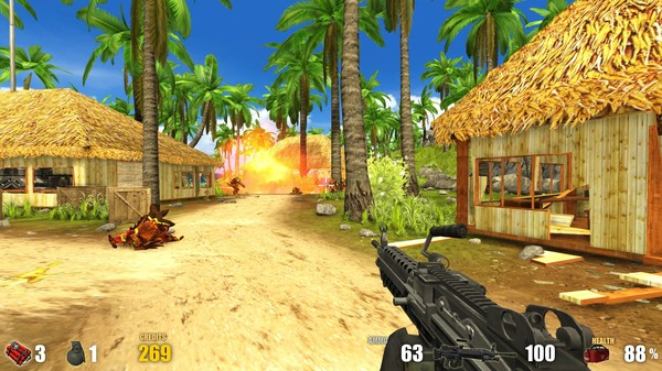 Action Alien Tropical Mayhem PC Game