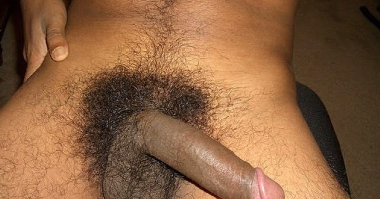 Soft Cock With Much Black Pubic Hair