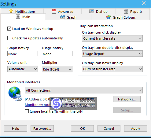 NetWorx Bandwitch Monitor cyber share