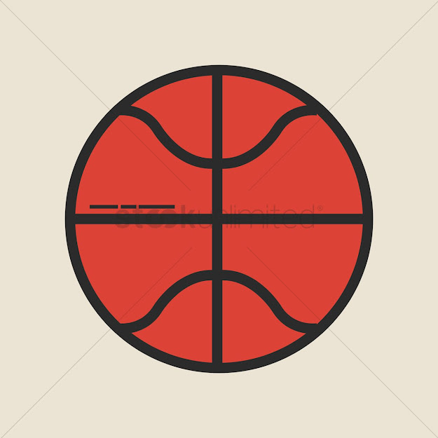 Basketball Vector Graphic