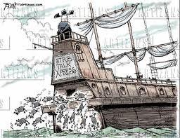 Resultado de imagen de ratas abandonan el barco