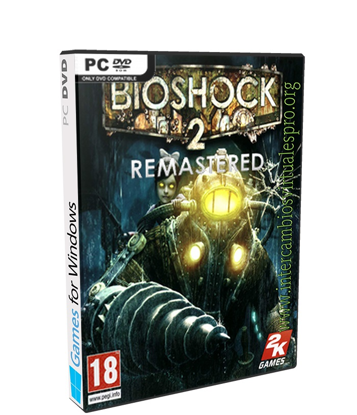 BioShock 2 Remastered poster box cover