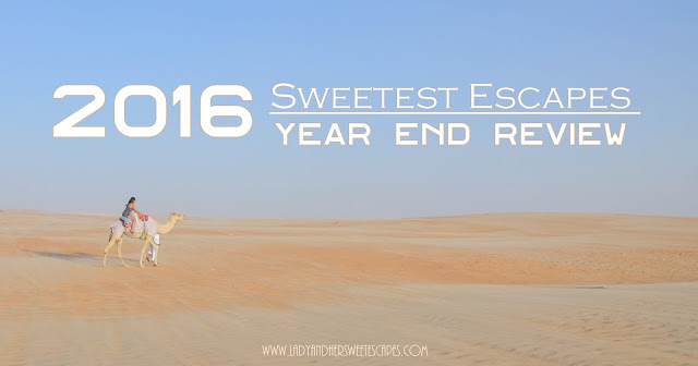 sweetest escapes of 2016