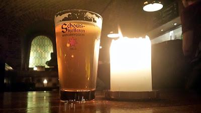 A glass of Schouskjelleren IPA!