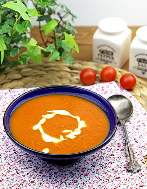 zupa, zupa krem, zupa krem pomidorowa, zupa pomidorowa, błyskawiczna zupa pomidorowa, banalna zupa pomidorowa,
