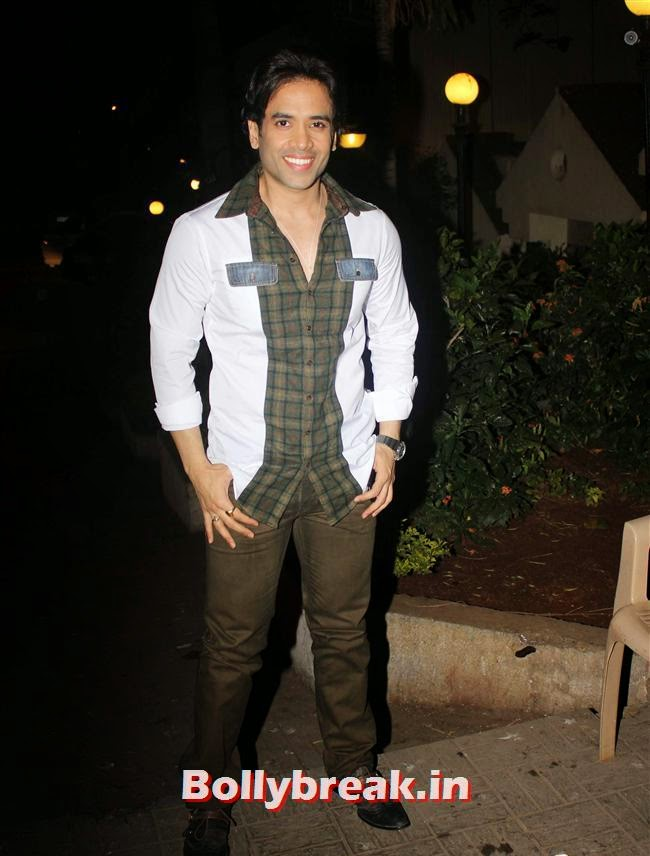 Tusshar Kapoor, Kainaat, Huma & Manjari at Sanjay Gupta Party for Milap Zaveri
