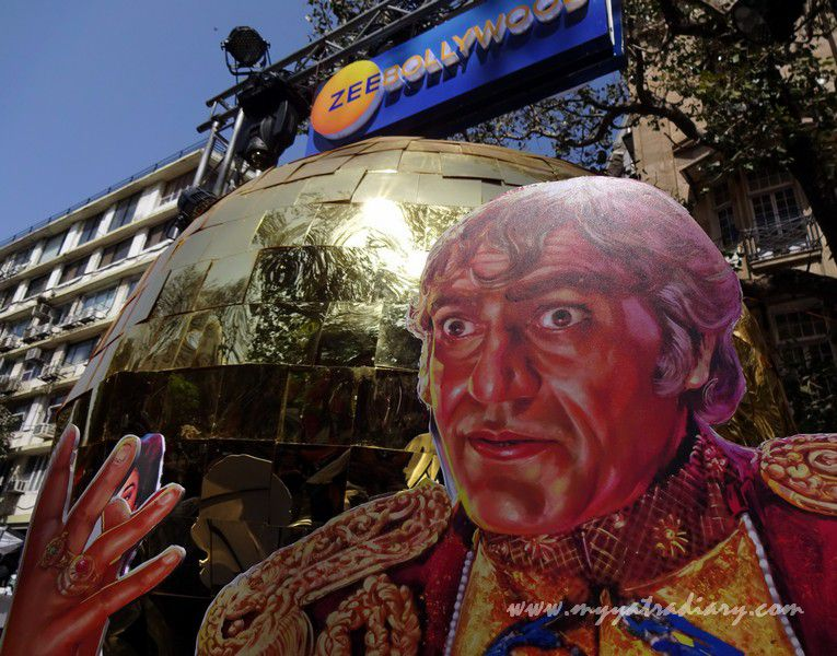 Zee Bollywood - Visual arts, Kala Ghoda Arts Fest, Rampart Row, Fort.