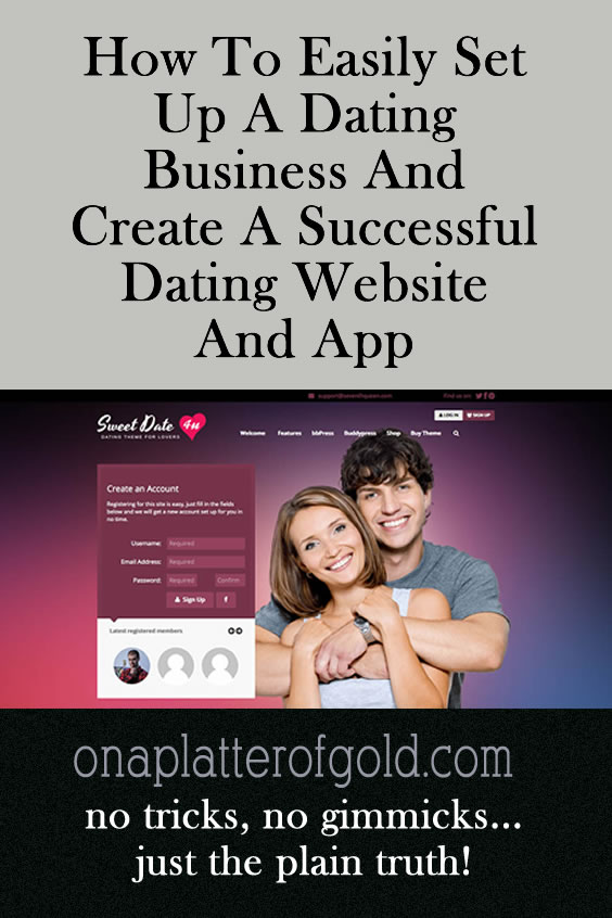 how to create a successful dating site