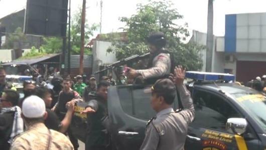Ricuh Saat Kampanye Prabowo Berujung Tembakan Peringatan Polisi di Yogya