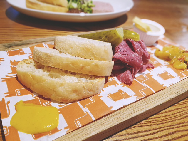 Beefeater Salt Beef Board