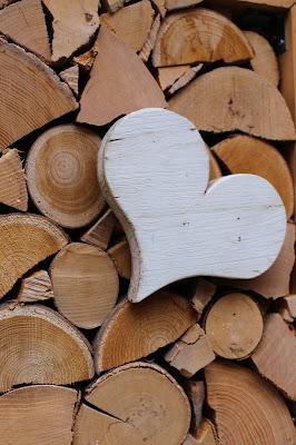 coeur en bois art