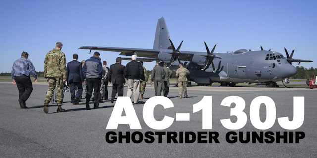AFSOC's 4th SOS Receives First AC-130J Ghostrider Gunship