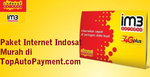 Top Auto Payment Pulsa Paket Internet Indosat Murah
