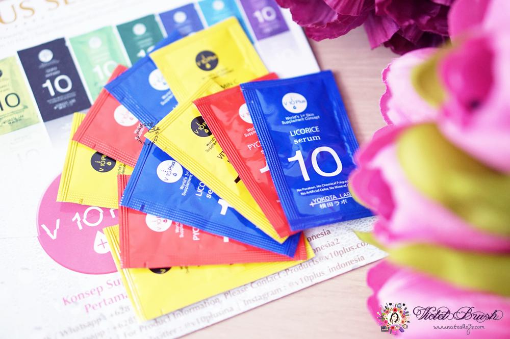 Violet Brush Indonesian Beauty Blogger Review V10 Plus Acne