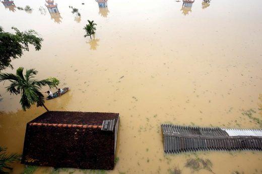 Lũ lụt rộng khắp ở miền bắc Việt Nam đã được báo trước