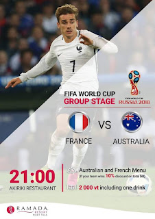 LIVE STREAMING FRANCE VS AUSTRALIA WORLD CUP 16 JUN 2018
