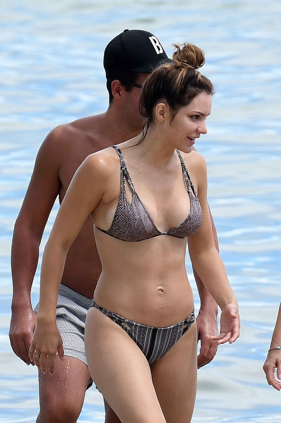 Katharine McPhee Wearing a Bikini 2016