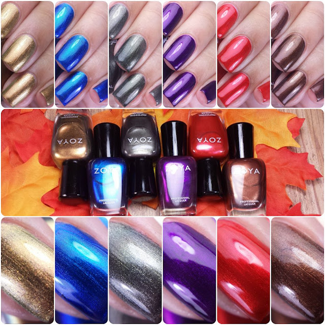 Zoya Flair Fall 2015 Swatches & Review
