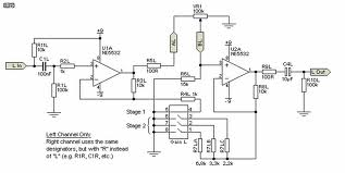 Schematic & Wiring Diagram: Dynamic Mic Amplifier (To Use