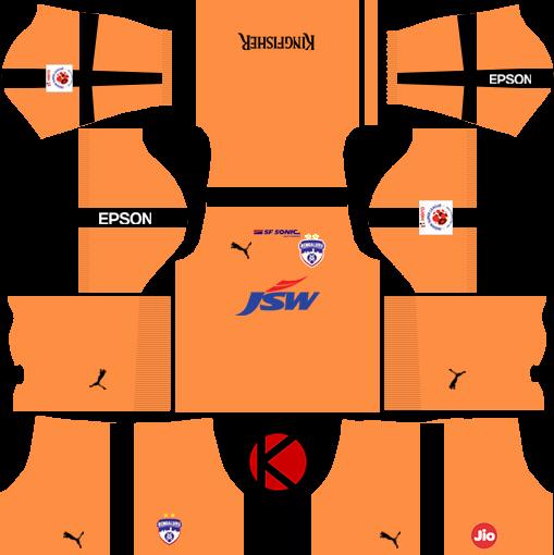 Bengaluru FC 2018 - Dream League Soccer Kits - Kuchalana a8abc991e