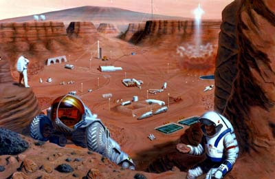 Washington Post Mars Colony
