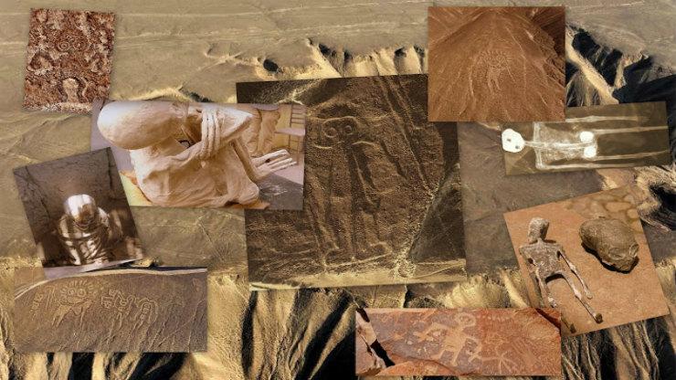 Οι μούμιες των «θεών» και των «ημίθεων» ανθρωποειδών της φυλής Νάζκα