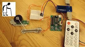 Remote Stepper Motor Controller System