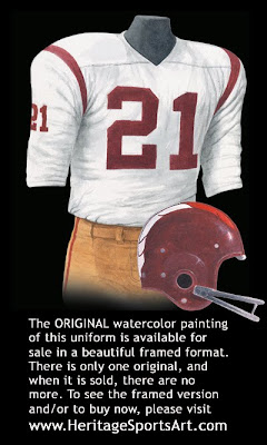 Washington Redskins 1962 uniform