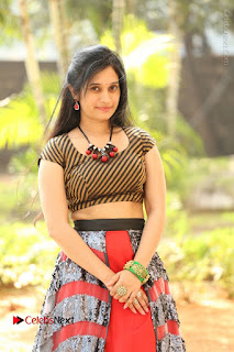 Telugu Actress Priyanka Pallavi Stills at Nenostha Release Press Meet  0046.JPG