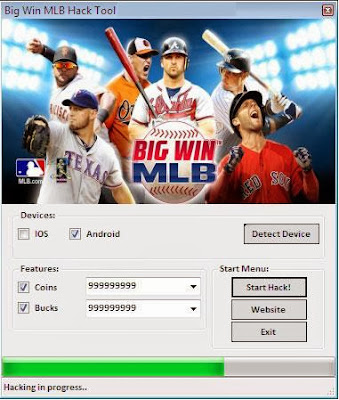 Download Free Big Win MLB Hack (All Versions) Unlimited Coin,bucks 100% working and Tested for IOS and Android.